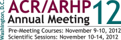 2012 ACR/ARHP Annual Scientific Meeting (Full Conference Package)